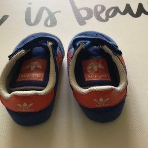 Adidas Infant Dragon Ortholite US size 2